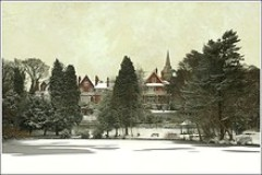 Moseley Park & Pool in Winter - Brett Wilde