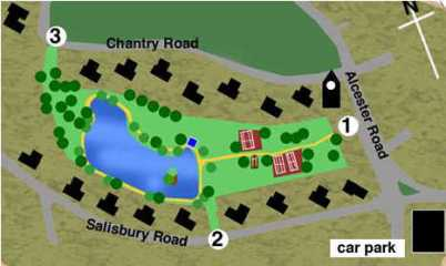 Moseley Park & Pool map